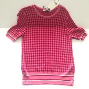 Zara knit blouse NWT medium Awesome🧚♀️